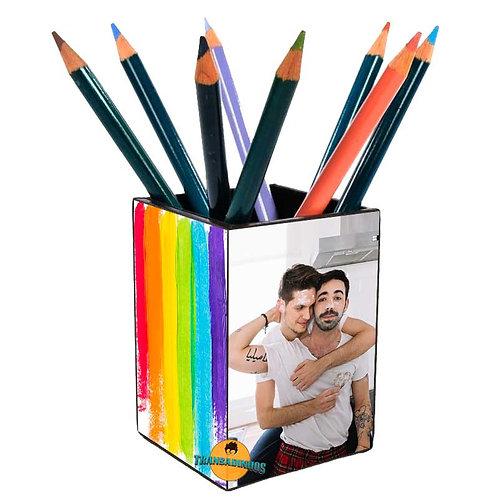 Porta Treco Personalizado - Namorados LGBT
