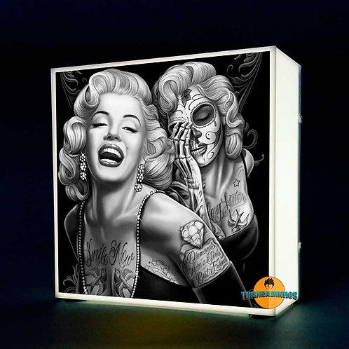 Luminária Personalizada - Marilyn Monroe