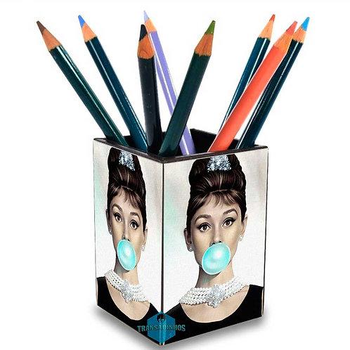 Porta Treco Personalizado - Audrey Hepburn