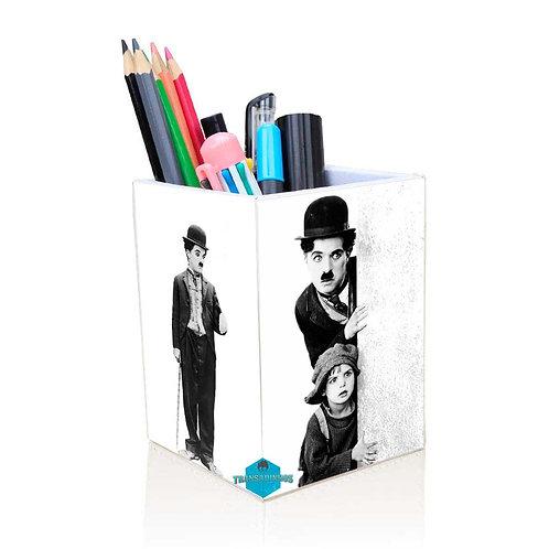 Porta Treco Personalizado - Charlie Chaplin