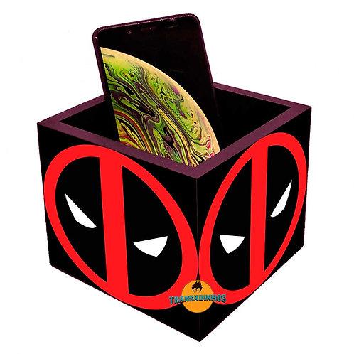 Porta Smartphone Decoraçaão- Deadpool
