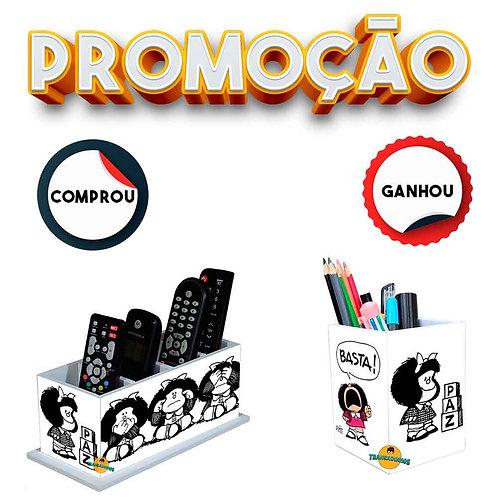 Promoção - Porta Controle Mafalda Decoração   + Brinde