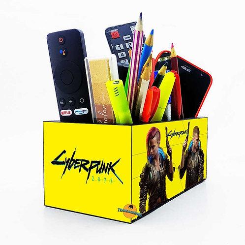 Porta Objetos Gigante - Decoração Cyberpunk 2077