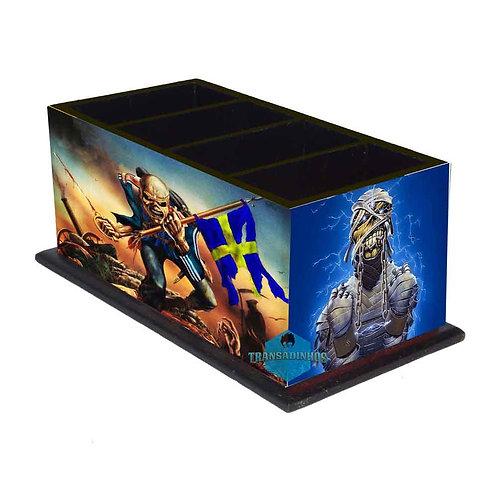 Porta Controle Remoto Iron Maiden