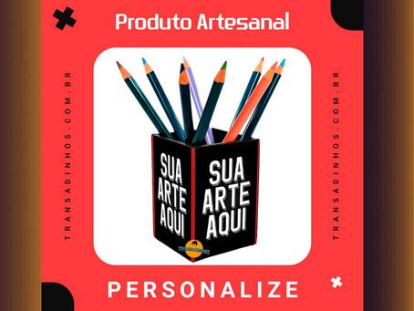 Porta Treco Personalizado - Sua Arte Aqui