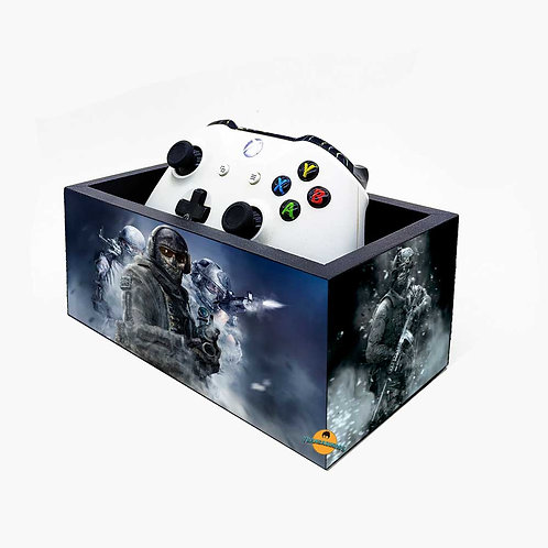 Porta Controle de Video Game - Decoração call of duty