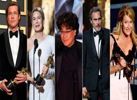 Lista de vencedores do Oscar 2020