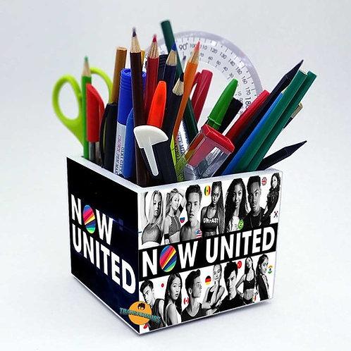 Porta Treco Gigante - Decoração Banda Now United
