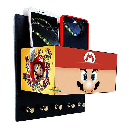 Porta Chaves Mario C/ Organizador
