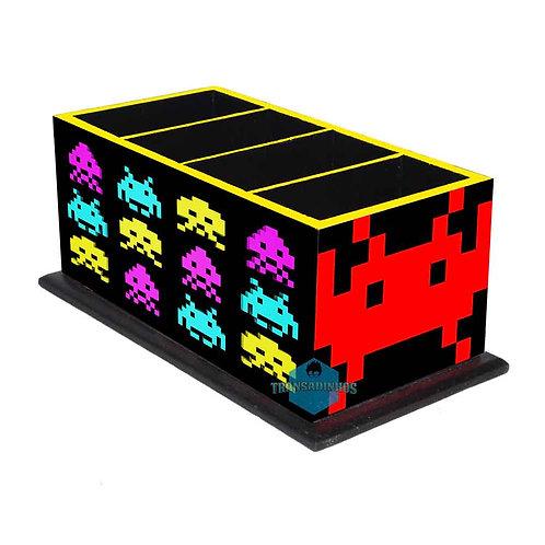 Porta Controle Remoto Space Invaders