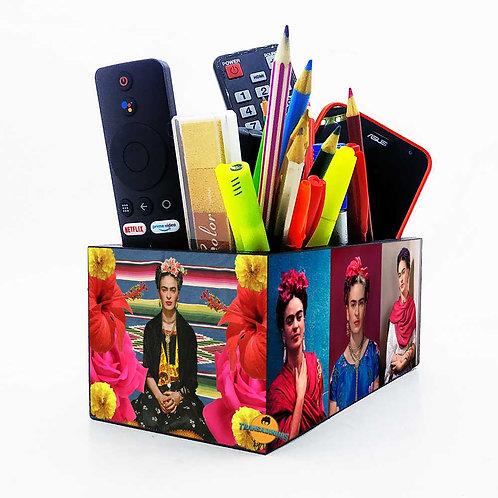 Porta Objetos Gigante - Decoração Frida Kahlo
