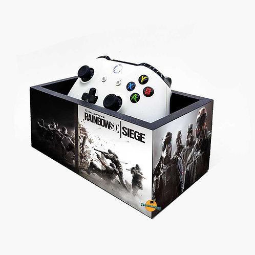 Porta Controle de Video Game - Decoração  Rainbow Six