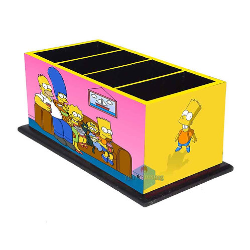 Porta Controle Remoto Os Simpsons