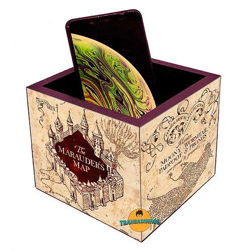 Porta Smartphone - Harry Potter Mapa Do Maroto
