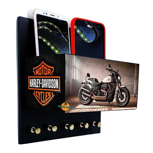 Porta Chaves Harley-Davidson C/ Organizador