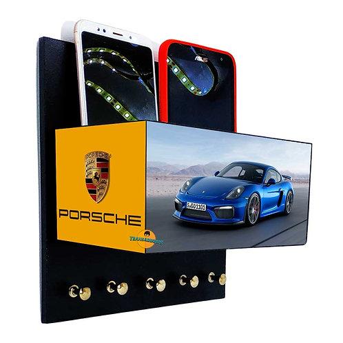 Porta Chaves Porsche C/ Organizador