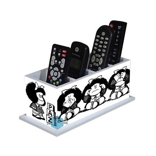 Porta Controle Remoto Mafalda