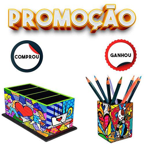 Presente Personalizado Romero Britto + Brinde