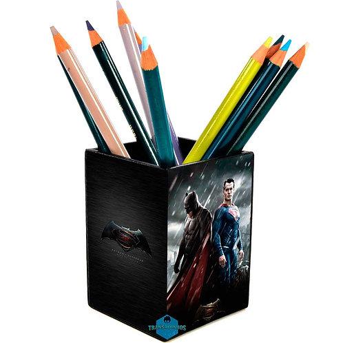 Porta Treco Personalizado - Batman vs Superman