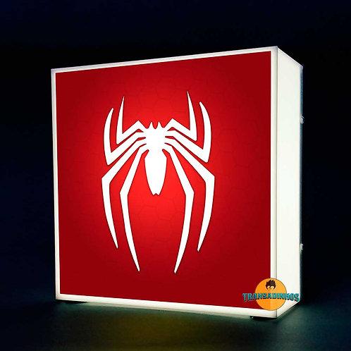 Luminária Personalizada - Homem-Aranha