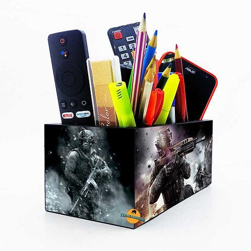 Porta Objetos Gigante - Decoração Call of Duty