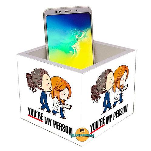 Porta Smartphone - Caneca Grey's Anatomy - You're My Person