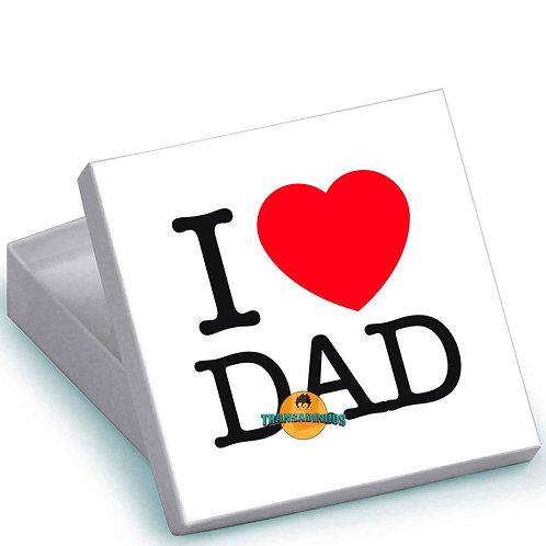 Caixa Personalizada - I Love Dad