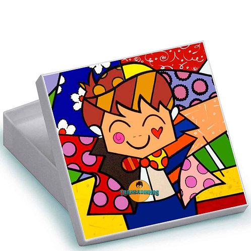 Caixa Personalizada - Romero Britto