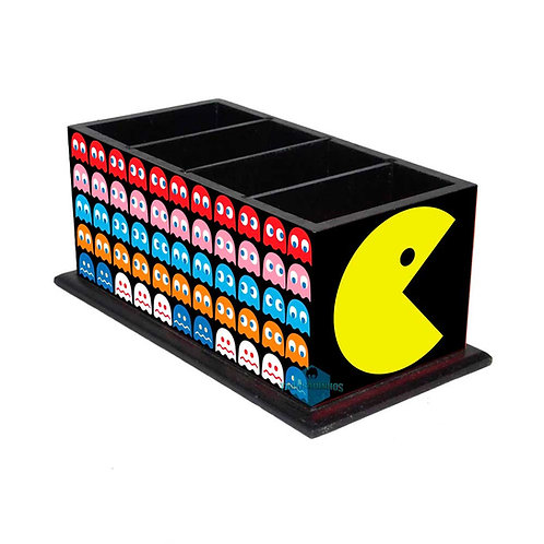 Porta Controle Remoto Pac Man