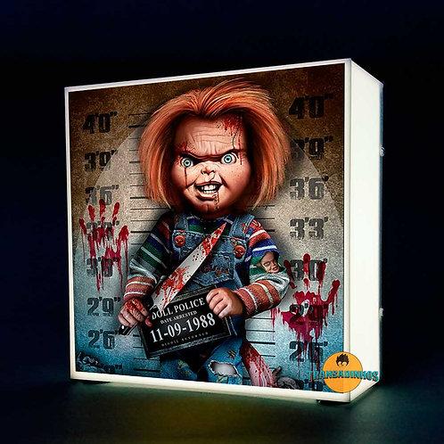 Luminária Personalizada - Chucky