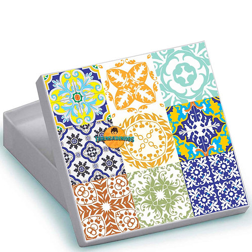 Caixa Personalizada - Azulejo