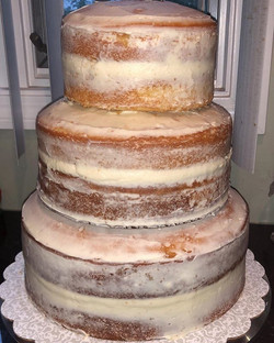 Semi-Naked Cakes are my absolute FAVORIT