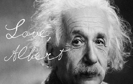 EINSTEIN UNCOVERS GOD -  for us