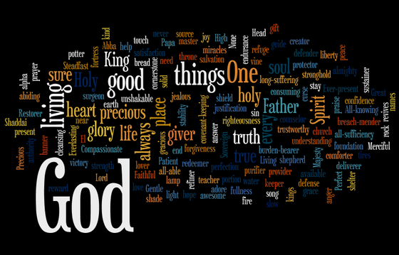 NAMES AND ATTRIBUTES OF GOD