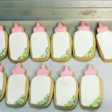 Baby Bottle Sugar Cookies
