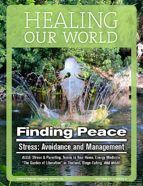 Charles Arnell Healing Our World Magazin