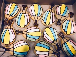 Balloon Sugar Cookies