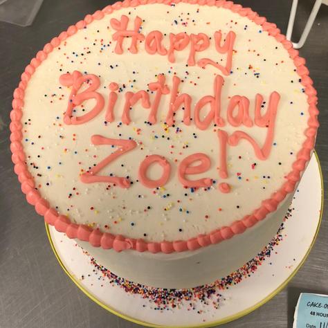 bday sample Zoe