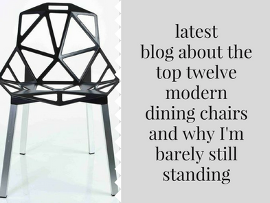 the top twelve best modern dining chairs and why we may never sit down ever again