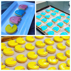 Sugar Cookies that make us think of a certain video game