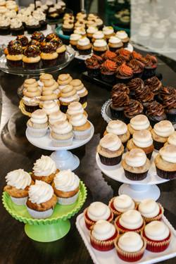 Cupcake displey