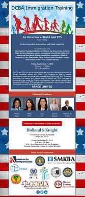 Partner Melisa Peña will be a panelist at DCBA Immigration Training