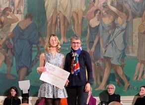 Fransızca Şiir yarışmasının birincisi İlayda Hasipoğlu