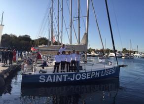 Saint-Joseph Lisesi Visa Bosphorus Regatta Yelken Yarışı'nda ikinci oldu.