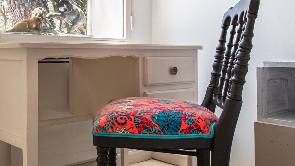 "Chaise dite ""Charivari"", style Napoléon III - 380,00 €"
