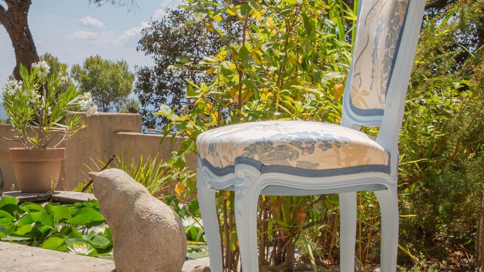 Chaise style Louis XV - Vendue