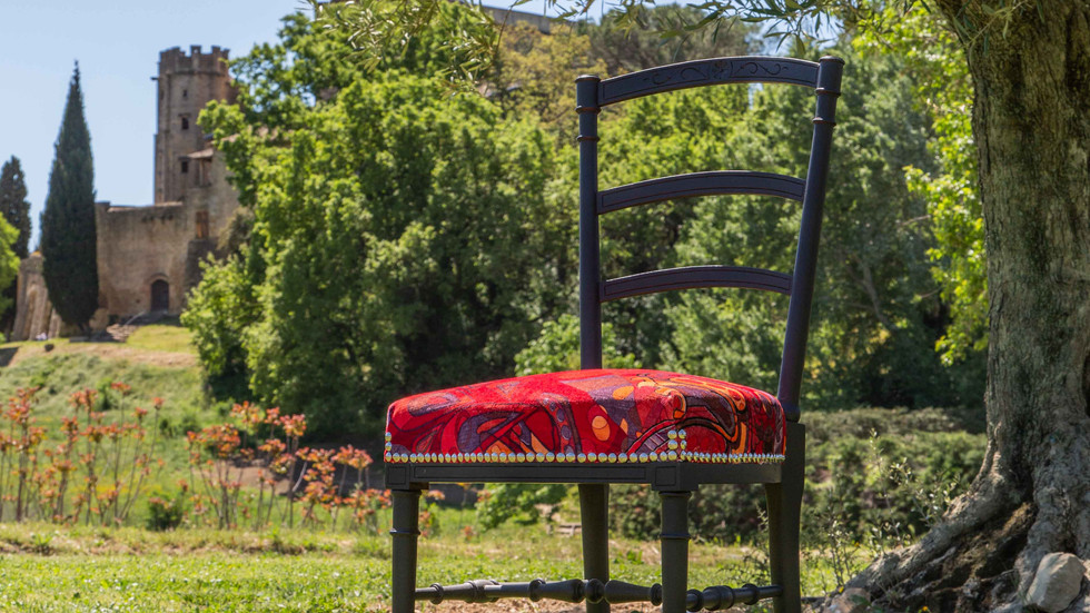 "Chaise dite ""volante"", style Napoléon III - 350,00 €"