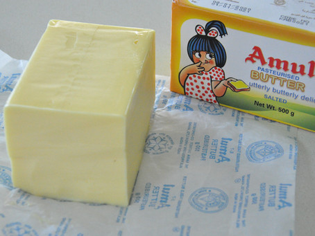 Amul Salted Butter - India