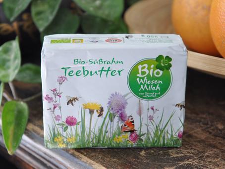 Bio-Wiesenmilch Bio Süßrahm Teebutter- Austria