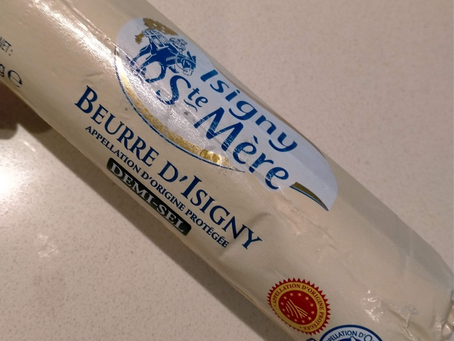 Isigny Sainte Mère Salted Butter - France